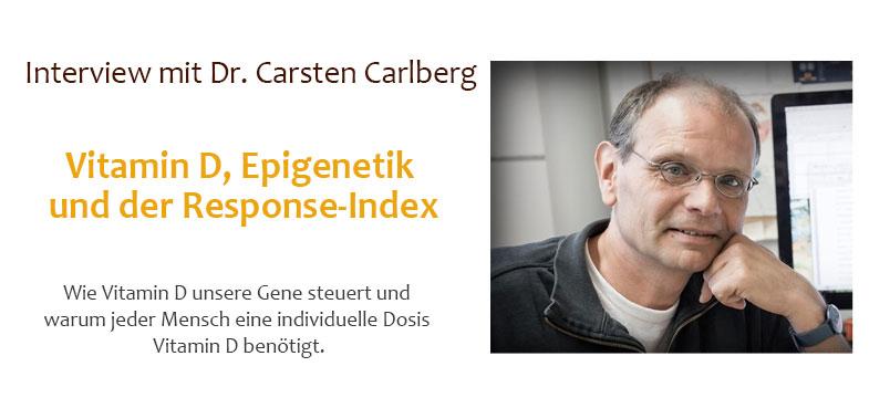 Interview Dr. Carlberg: Vitamin D, Epigenetik und der Response-Index