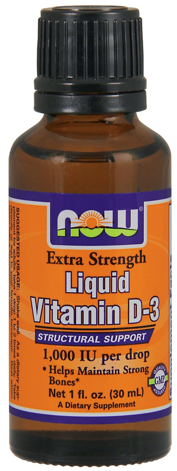 Extra Strength Liquid Vitamin D3